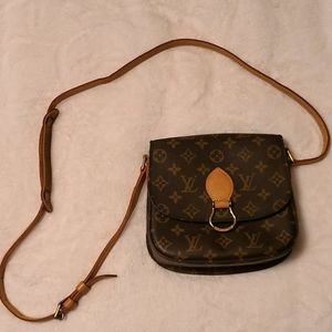 LOUIS VUITTON MONOGRAM SAINT CLOUD CROSS BODY BAG